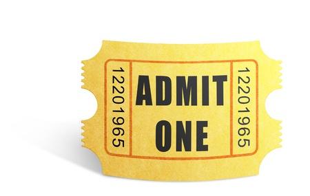 illustrated: Illustrated Movie Ticket
