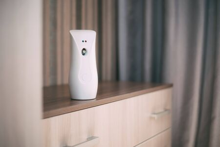 Automatic air freshener on the chest of the house