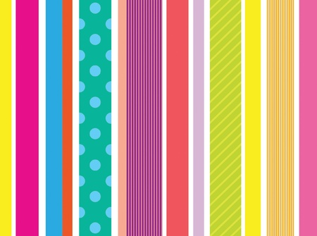 stripe pattern with bright colors  Vector