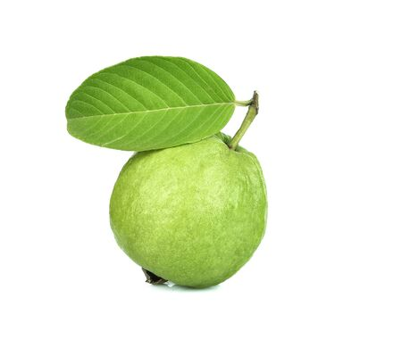 fresh guava fruit  isolated on white background