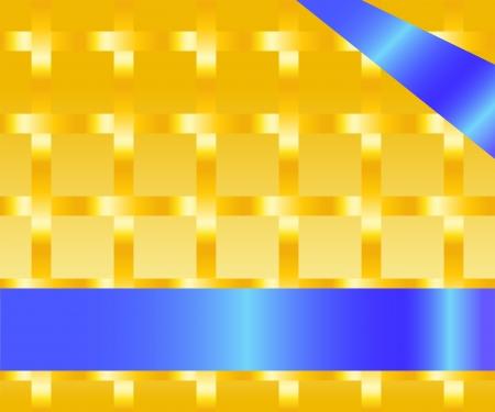 darkly: Texture squares on a darkly yellow background
