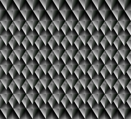 blackly: Seamless  vector pattern with blackly grey rhombuses