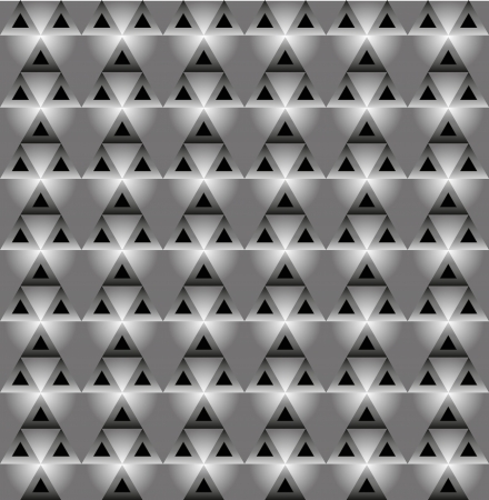 blackly: Seamless  vector pattern with blackly grey triangles