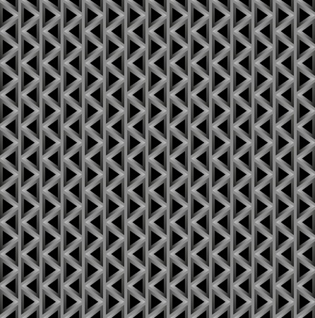 darkly: texture consisting from triangles on darkly background Illustration