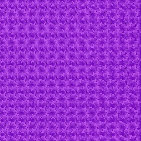plurality: seamless pattern consisting of a plurality of lilac flowers Illustration