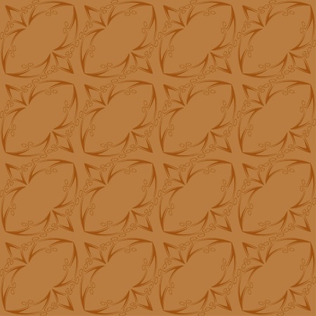 figure astratte: Vintage seamless pattern of abstract shapes .