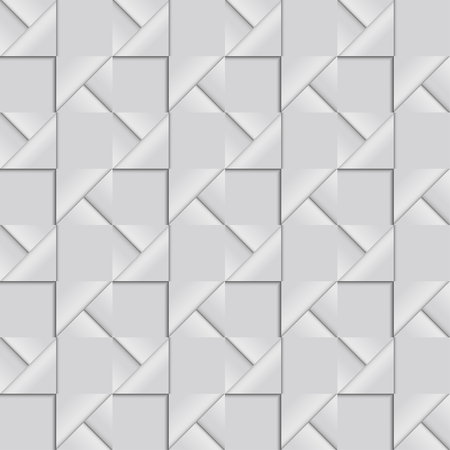 folded paper: Seamless pattern of abstract shapes composed of folded paper
