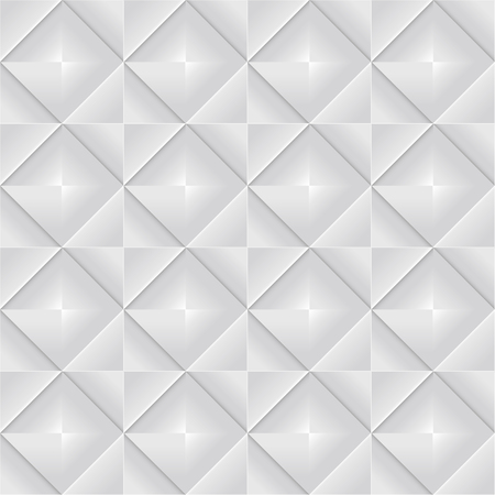 glimmer: abstract seamless pattern made up of gray squares with a glimmer in the middle Illustration