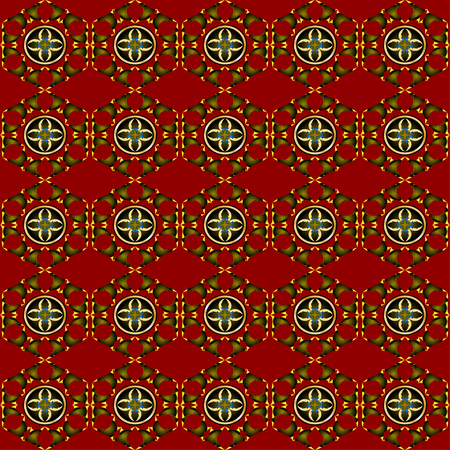 reiteration: Abstract seamless pattern. Repeating background. Stylish texture. Illustration