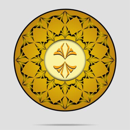 intent: Design decorative element. Art Deco Template design