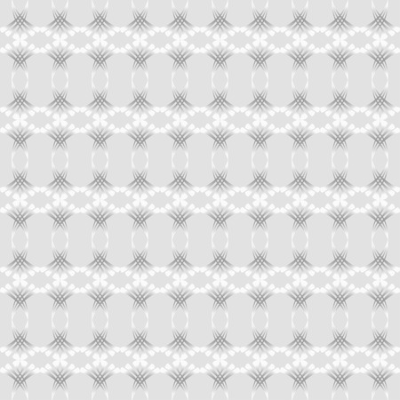reiteration: Vintage pattern of various shapes on light gray background  Seamless pattern for wallpapers and background. Illustration