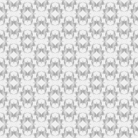 reiteration: Abstract pattern of various shapes on gray background  Seamless pattern for wallpapers and background.