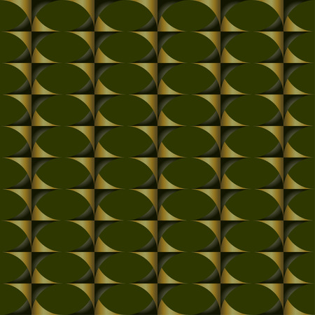 inclined: seamless pattern with optical illusion inclined figures