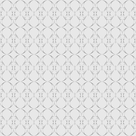 reiteration: Abstract seamless pattern in oriental style on a light gray background