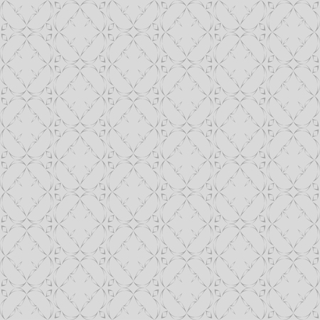 distort: Abstract seamless pattern in oriental style on a light gray background
