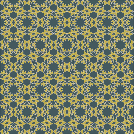 convexity: Seamless pattern with decorative ornament . Abstract background for print and web