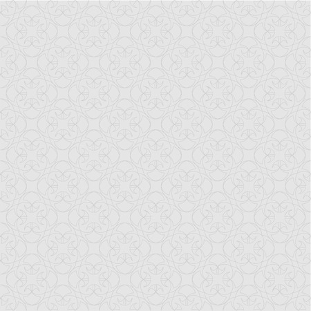 convexity: The pattern with decorative ornament in vintage style on gray background