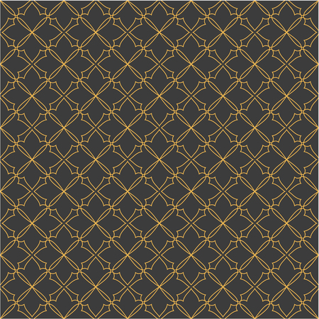 convexity: The pattern with decorative ornament on brown background