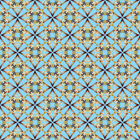 convexity: The pattern with decorative ornament on gray background