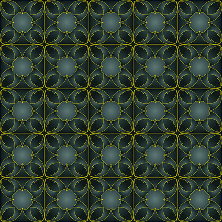 convexity: The pattern with decorative ornament in a futuristic style Stock Photo