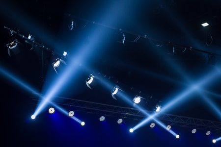 lighting: lighting for concert Stock Photo
