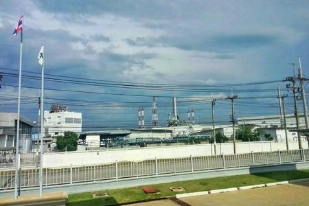 industrial: Rojana Industrial Park in Ayutthaya, Thailand. Stock Photo