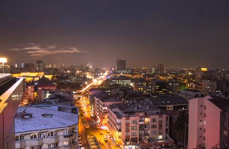 city park skyline: Panoramic Ankara and Anitkabir. Beautiful lanscape