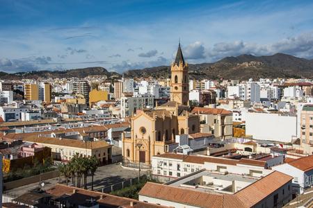 Church of the Sacred Heart in Malaga. Malaga, Andalusia, Spain.