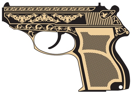 The image of Pistol with a pattern