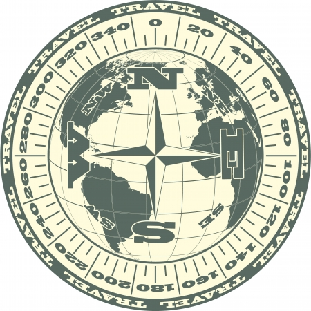 The vector image Travel symbol