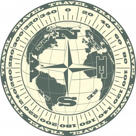 Die Vektor-Bild Travel Symbol