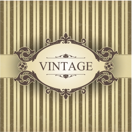 The image Vintage frame Stock Vector - 14525802