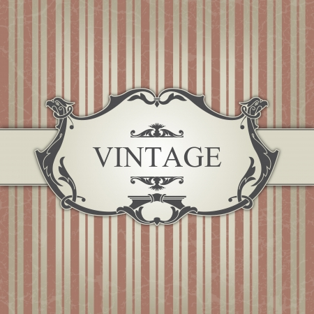 The image Vintage frame Stock Vector - 14525815