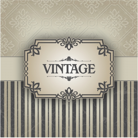 The image Vintage frame Stock Vector - 14525819