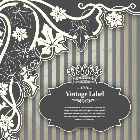 The image Vintage frame Stock Vector - 14525816
