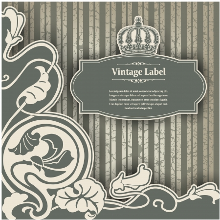 The image Vintage frame Stock Vector - 15195946