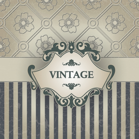 The image Vintage frame Illustration