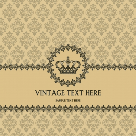 The image of Vintage background for invitations Stock Vector - 15196049