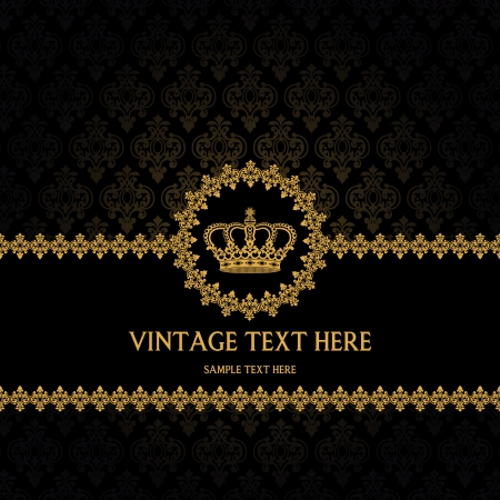 The image of Vintage background for invitations Stock Vector - 15196037