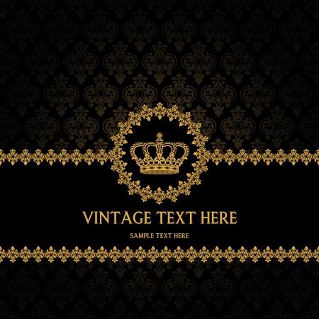Das Bild von Vintage Hintergrund für Einladungen