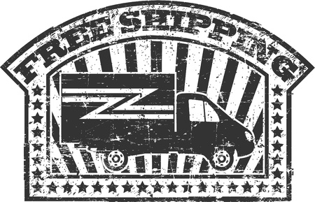 costumer: The image of Free shipping stamp