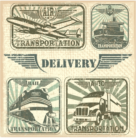 The image of Transportation set stamp