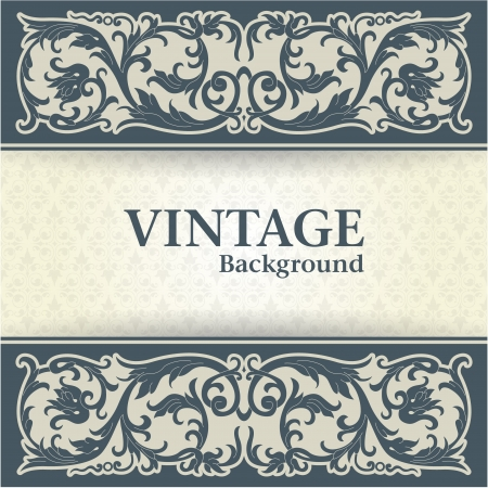 The image Vintage background Vector