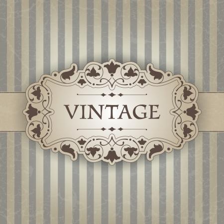The  image Vintage frame