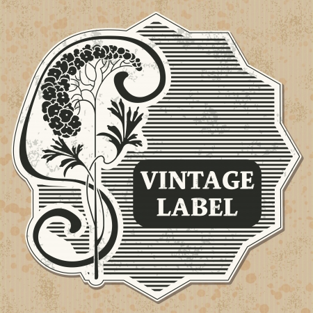 The image Vintage label Stock Vector - 15855993