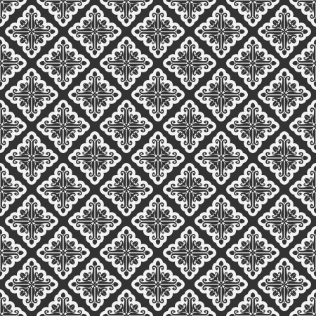 The vector image Vector seamless pattern Illustration