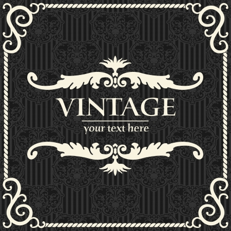 rasterized: The image vintage background