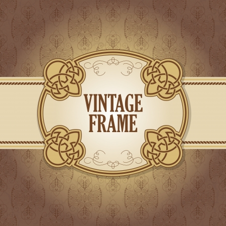 The vector image Vintage frame Stock Vector - 17588920
