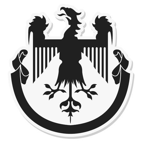 The image Heraldic coat of arms Stock Vector - 17949003
