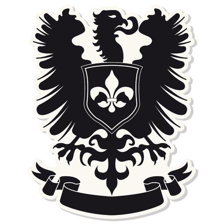 The image Heraldic coat of arms Stock Vector - 18001222